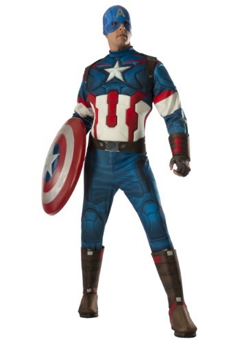 Captain America Age Of Ulton Costume